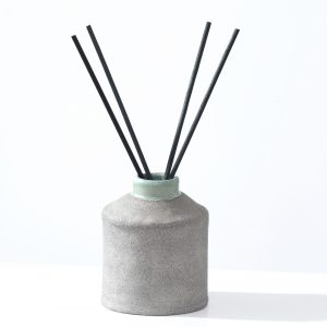 Ceramic diffuser with scent sticks