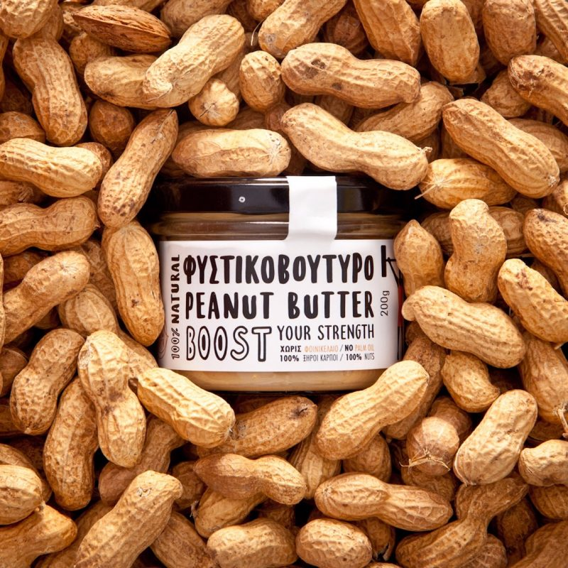 Peanuts and Greek nut butter