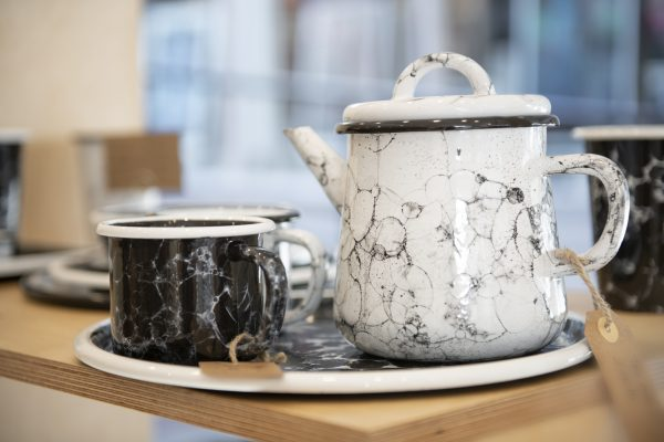 Enamel bubble teapot from Vios Concept Brighton